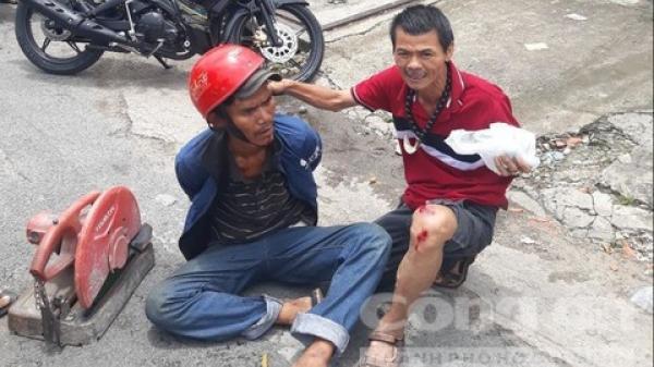 """""""Hiệp sĩ"""" Trần Văn Hoàng tái xuất và lại bị thương khi bắt trộm"""
