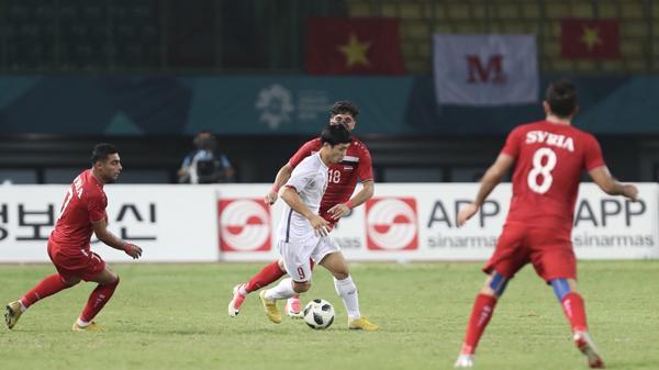 Vì sao áo đấu của Olympic Syria không có tên cầu thủ?