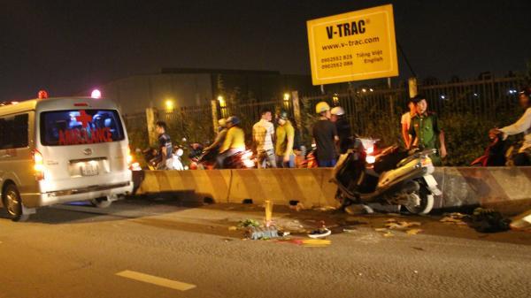 Dân truy đuổi, chặn xe đầu kéo cán thương vong 2 thanh niên ở Sài Gòn