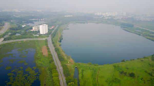 Xây khu công viên giữa làng đại học ở TP HCM