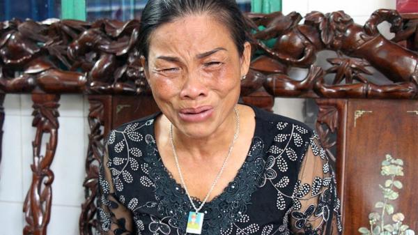 Mẹ thiếu úy uống nhầm ma túy tử vong khóc ngất sau kết luận bất ngờ