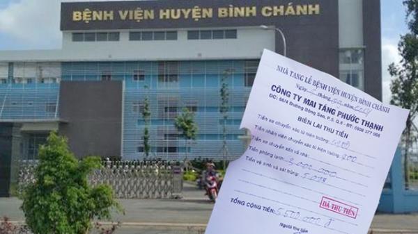 TP.HCM: Nhà xác bệnh viện thu tiền cao ngất