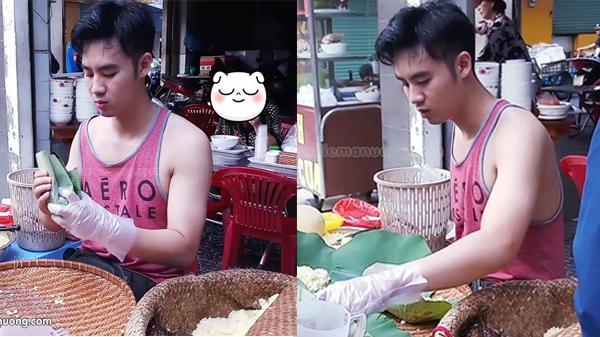 """Quán xôi lá sen 3 tiếng """"gây mê"""" thực khách khi có anh chủ đẹp trai nức tiếng Sài Gòn"""