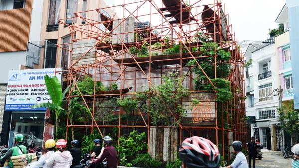 Quán cà phê giàn giáo kỳ lạ nhất Việt Nam: Như một công trình đang xây dựng dở dang