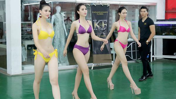 Đại diện Việt Nam được huấn luyện trong… nhà kho trước giờ thi Miss Earth 2018