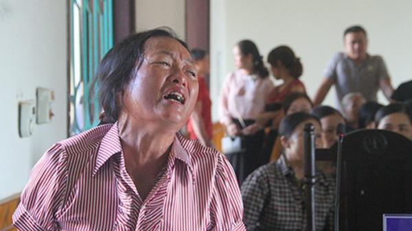 Hà Tĩnh: Người nhà gào khóc THƯƠNG TÂM tại phiên tòa xử tài xế xe ben cán ch.ết người