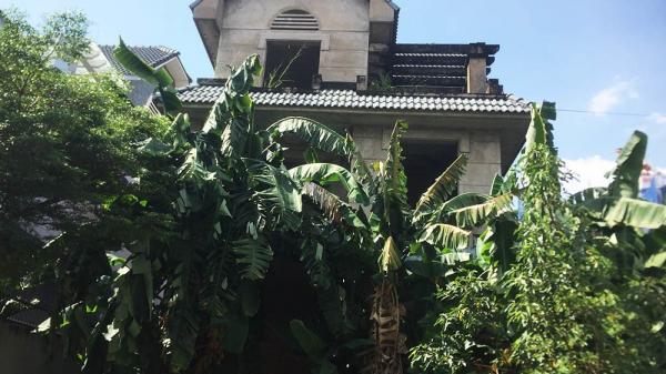 Biệt thự tiền tỷ bịt kín mọi lối vào, hoang lạnh giữa Sài Gòn