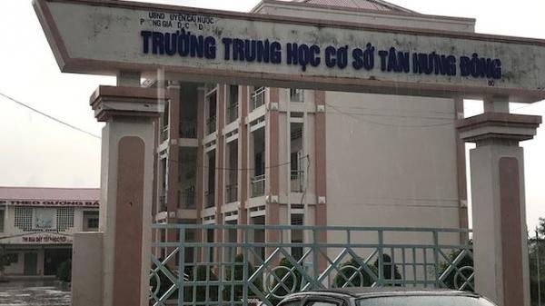 Trần tình của hiệu trưởng buộc thôi việc giáo viên ở Cà Mau
