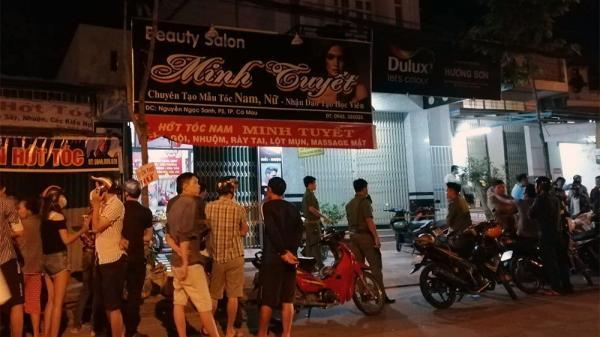 Đôi nam nữ chê't bất thường trong tiệm hớt tóc ở TP Cà Mau