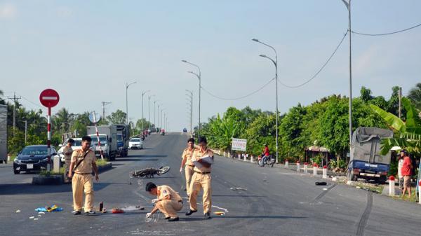 Châu Thành (Bến Tre): Tai nạn giao thông làm 1 người chê't tại chỗ