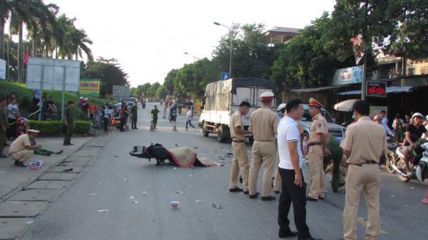 Phú Thọ: T.ai nạn giao thông làm 1 người c.hết, 3 người bị t.hương