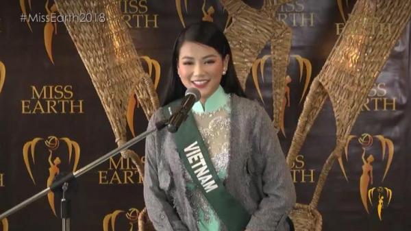 Người đẹp Bến Tre - Phương Khánh bị fan chê mặc ăn mặc khó hiểu trong phần thi vấn đáp và đây là nguyên nhân thật sự