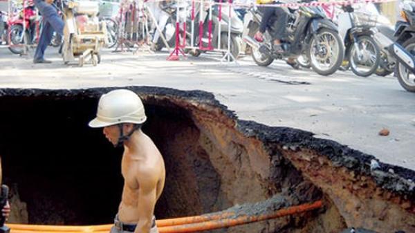 Tp Hồ Chí Minh: Nhiều khu vực sẽ bị ngưng cấp nước do rò rỉ đường ống
