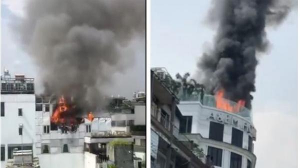 3 thợ hàn bị tình nghi liên quan đến vụ cháy khách sạn ở trung tâm quận 1, TP.HCM