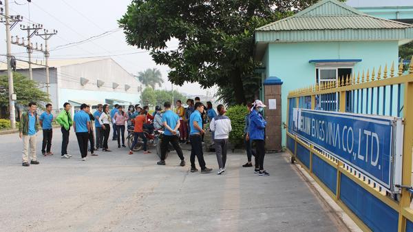 Phú Thọ: Hơn 60 công nhân Công ty TNHH Seijin Bags Vina ng.ừng việc tập thể