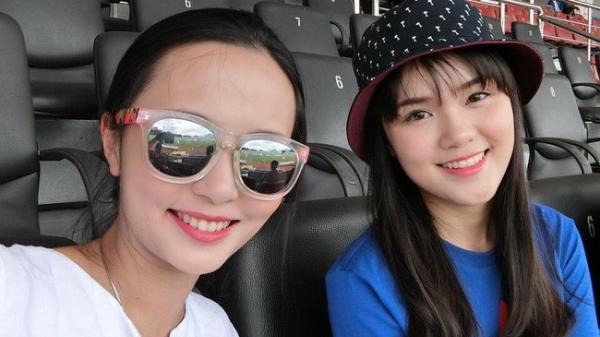 Chuyện tình đặc biệt của cặp chị em xinh đẹp yêu hai chàng hot boy tuyển Việt Nam