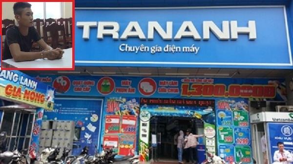 Đã bắt được n.ghi phạm trộm 10 máy iPhone trong siêu thị Trần Anh ở Phú Thọ