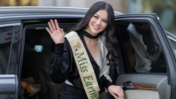 Cận cảnh nhan sắc rạng rỡ của mỹ nhân Bến Tre - Hoa hậu Trái đất Phương Khánh