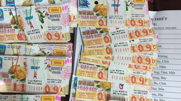 NÓNG: Một cán bộ trúng thưởng 80 tờ vé số kiến thiết