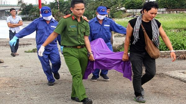 Cô gái tử vong sát mép sông Sài Gòn