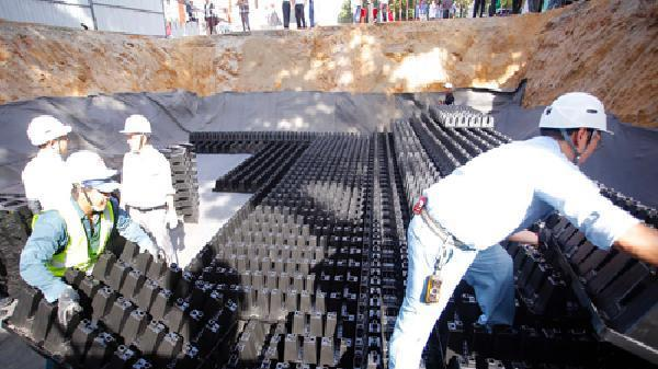 TP HCM chi gần 500 tỷ đồng xây 6 hồ điều tiết ngầm khổng lồ
