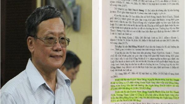Bản án sơ thẩm tuyên nguyên Chủ tịch HĐQT Ngân hàng MHB xuất hiện điểm 'mới'?