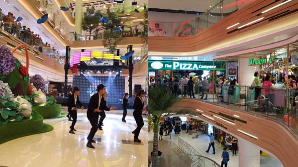 Hôm nay, Trung tâm thương mại đẹp nhất Sài Gòn chính thức khai trương