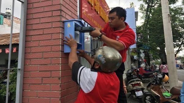 Người Sài Gòn có tủ cứu thương miễn phí