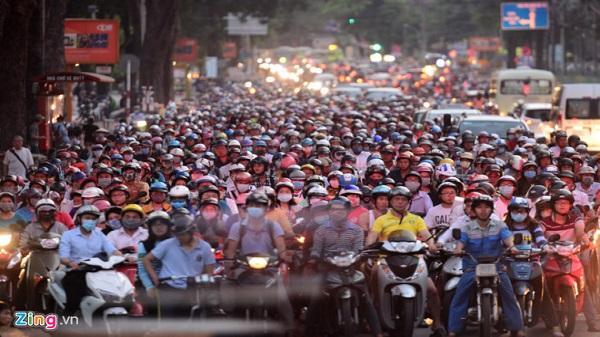 Tranh cãi ý tưởng cấm xe máy vào trung tâm Sài Gòn