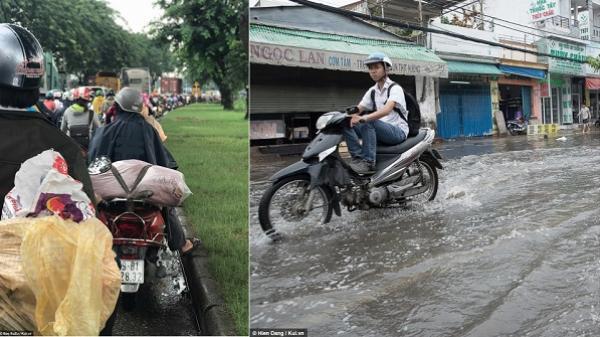 Sài Gòn sáng 14/9: Quận 4 đường xá thông thoáng vì xe đã... kẹt hết ở Quận 7