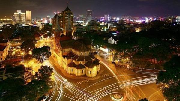 Những bức ảnh thành phố Sài Gòn về đêm đẹp yên tĩnh đến bất giờ