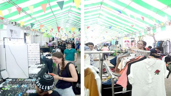 Mở cửa chợ phiên tại bến Bạch Đằng, TP Hồ Chí Minh