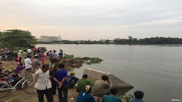 Nhảy sông Sài Gòn, người đàn ông mất tích dưới dòng nước xiết