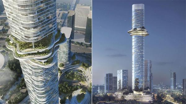 Xuất hiện 'đối thủ' là tòa tháp 88 tầng sẽ soán ngôi toà nhà cao nhất Việt Nam Landmark81