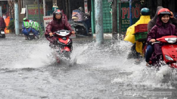 Mưa liên tục tại TP. HCM nhưng vẫn là mưa trái mùa