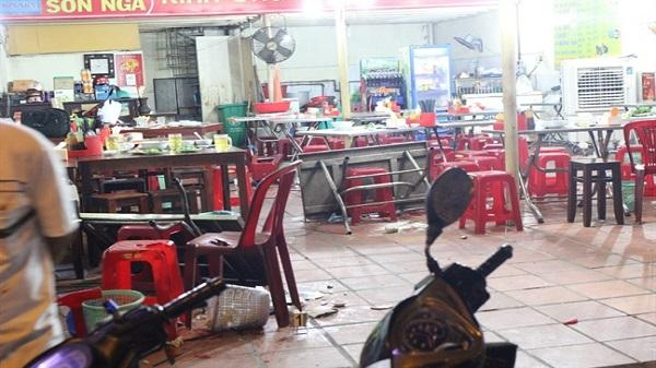 Nhóm giang hồ phá quán phở, chém công an bị thương ở Sài Gòn sa lưới