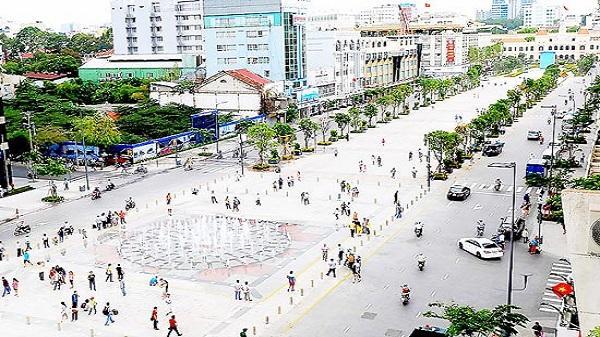 Nghiên cứu xây dựng khu phố đi bộ ở trung tâm TP. HCM rộng 221 ha