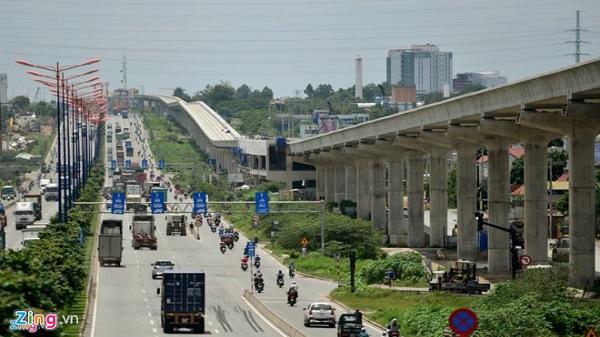 Nhà thầu tuyến metro số 1 ở Sài Gòn 'gay gắt' đòi nợ
