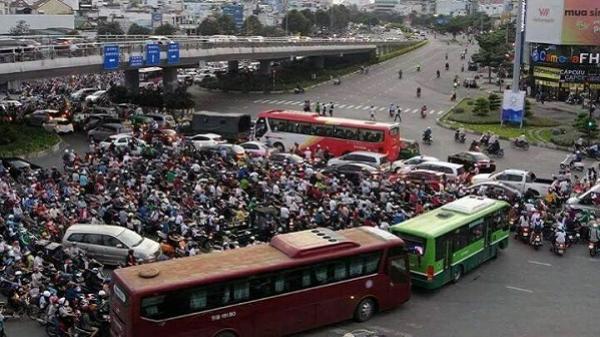 TP.HCM xếp thứ 7 trong top 10 thành phố tệ nhất thế giới để lái xe