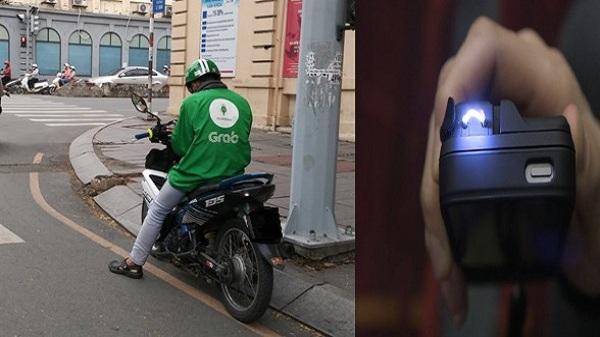 Tài xế Grabbike bị chích điện, cướp xe ở Sài Gòn