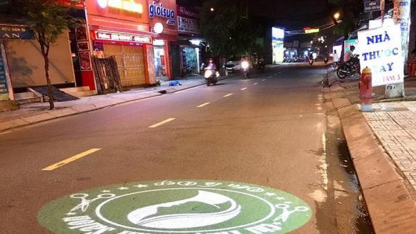 Dùng đèn led chiếu quảng cáo xuống mặt đường: Nguy cơ tai nạn chết người, cơ quan chức năng 'ngoài cuộc'?