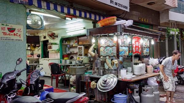 Tiệm mì 70 năm của người Hoa giữa lòng Sài Gòn