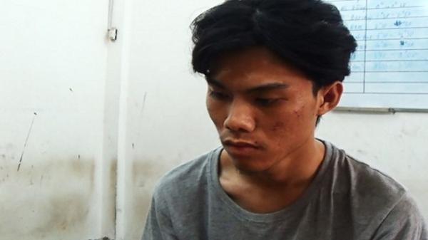 Dùng kíp nổ giả cướp ngân hàng ở Tân Phú