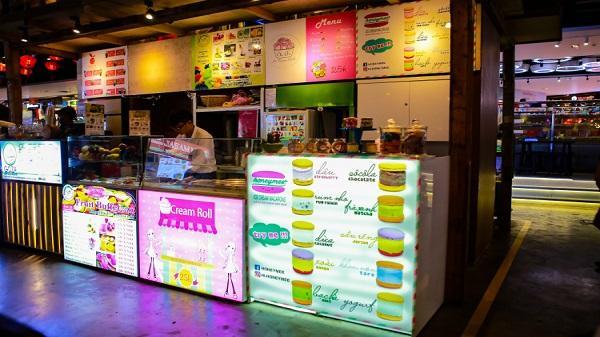 Macaron và kem lạnh thách thức cái nóng Sài Gòn những ngày hè