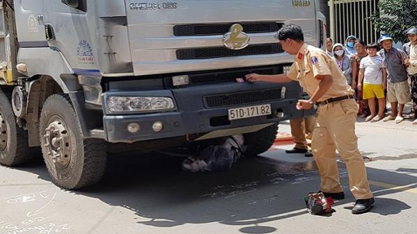 Một phụ nữ bị xe tải cán tử vong trong ngày 20/10