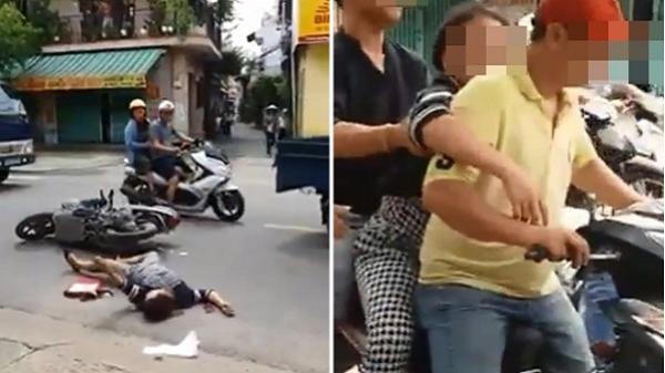 TP.HCM: Người phụ nữ bị tai nạn giao thông và sự thờ ơ của người đi đường gây tranh cãi