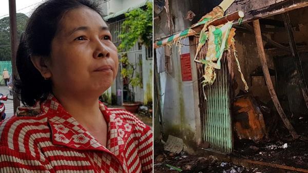 Vụ cháy 2 người chết: Ước mơ về nhà mới lụi tàn trong biển lửa