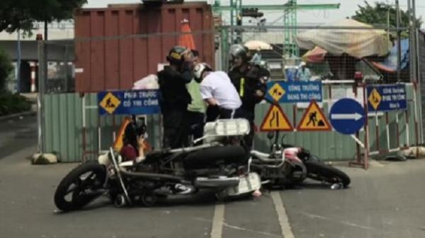 Clip cảnh sát cơ động 'lên gối' thanh niên giữa đường Sài Gòn
