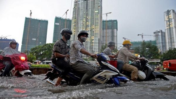 """Những """"rốn ngập"""" ở Sài Gòn nên biết khi mua nhà"""