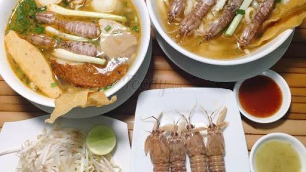 No căng bụng với món bánh canh tôm tít tươi ngon hấp dẫn không thể cưỡng nổi ở phường 7, quận Phú Nhuận Sài Gòn